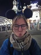 Mickey Mouse Ohren dürfen natürlich nicht fehlen!