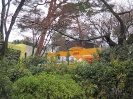 der erste Blick, den man auf das Studio Ghibli Museum erhält