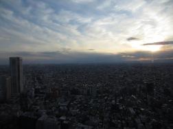 Den Sonnenuntergang vom Rathaus aus betrachten