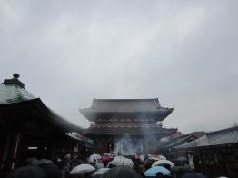 trotz des Regens gut besucht