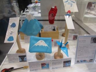 witzige Fuji-san Souvenirs