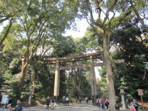 Eingang zum Meiji-Schrein