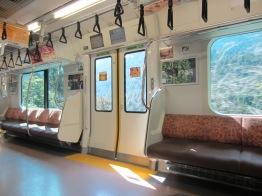 so sehen die meisten U-Bahnen und Züge aus