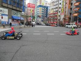 Mario Kart... die Gruppe wurde später festgenommen