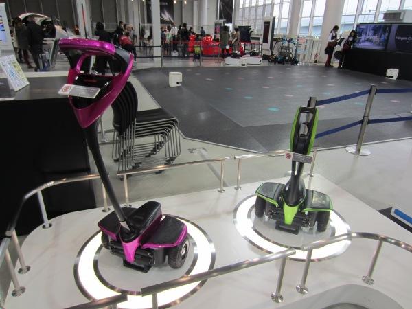 Technikmesse von Toyota