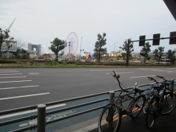 das Riesenrad von Odaiba