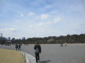 der Platz beim kaiserlichen Palast