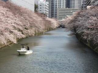 Meguro Fluss