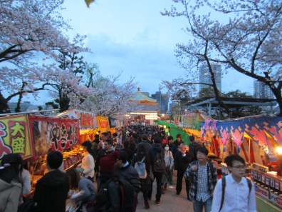 Streetfood Festival im Ueno-Park